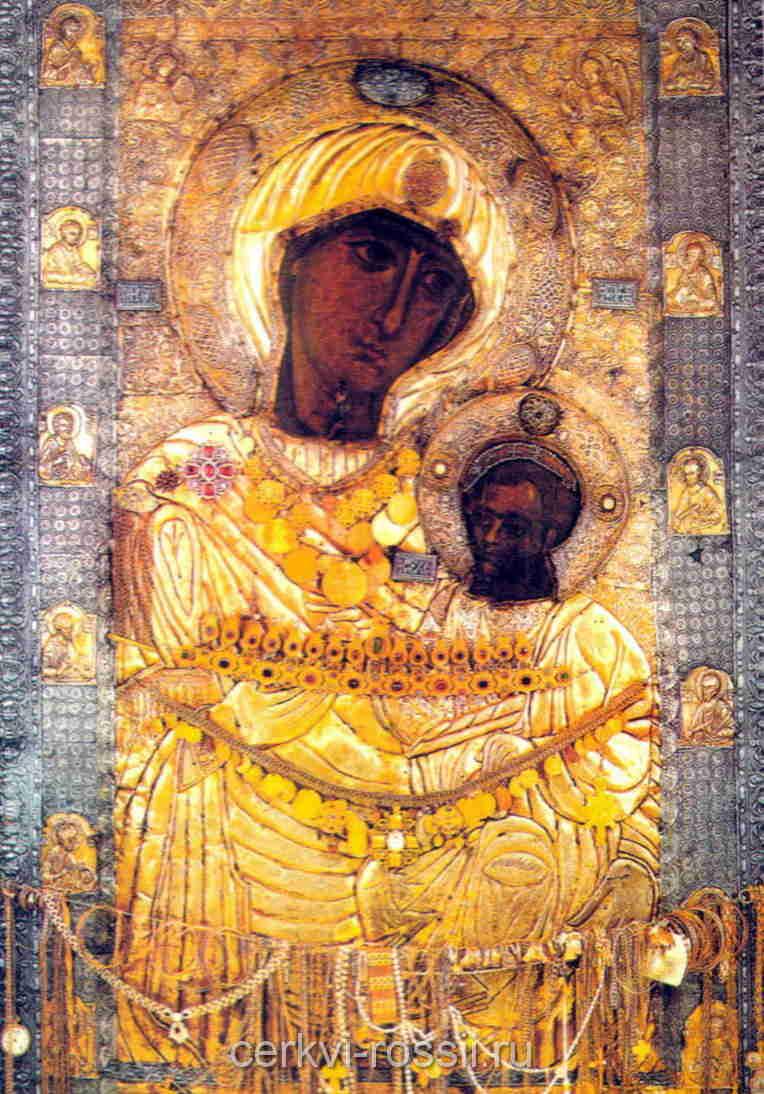 Иверская икона Божией матери Место нахождения Афон Греция