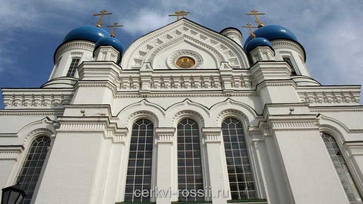 Москва Собор  Иверской иконы Божией Матери в Николо-Перервинском монастыре
