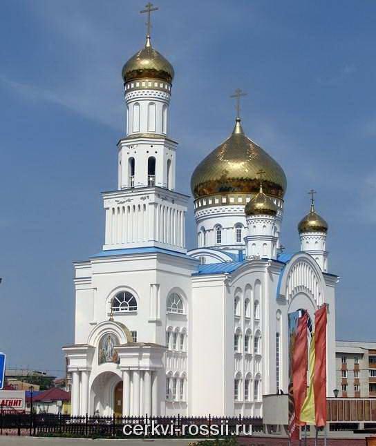 Собор во имя Светлого Христова Воскресения, Краснослободск