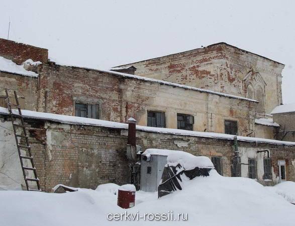 Троицкий собор, ныне прядильно ткацкая фабрика