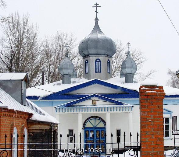 Церковь Успения Пресвятой Богородицы. Краснослободск