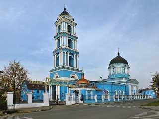 Церковь в Ногинске. Богоявленский собор. Ногинск