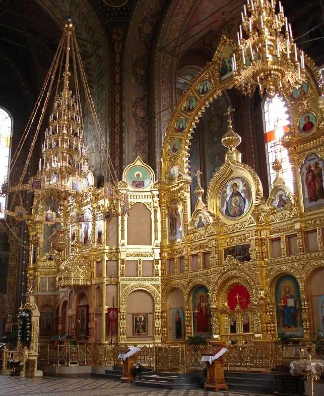 иконостас Собор Иверской иконы Божией Матери Москва