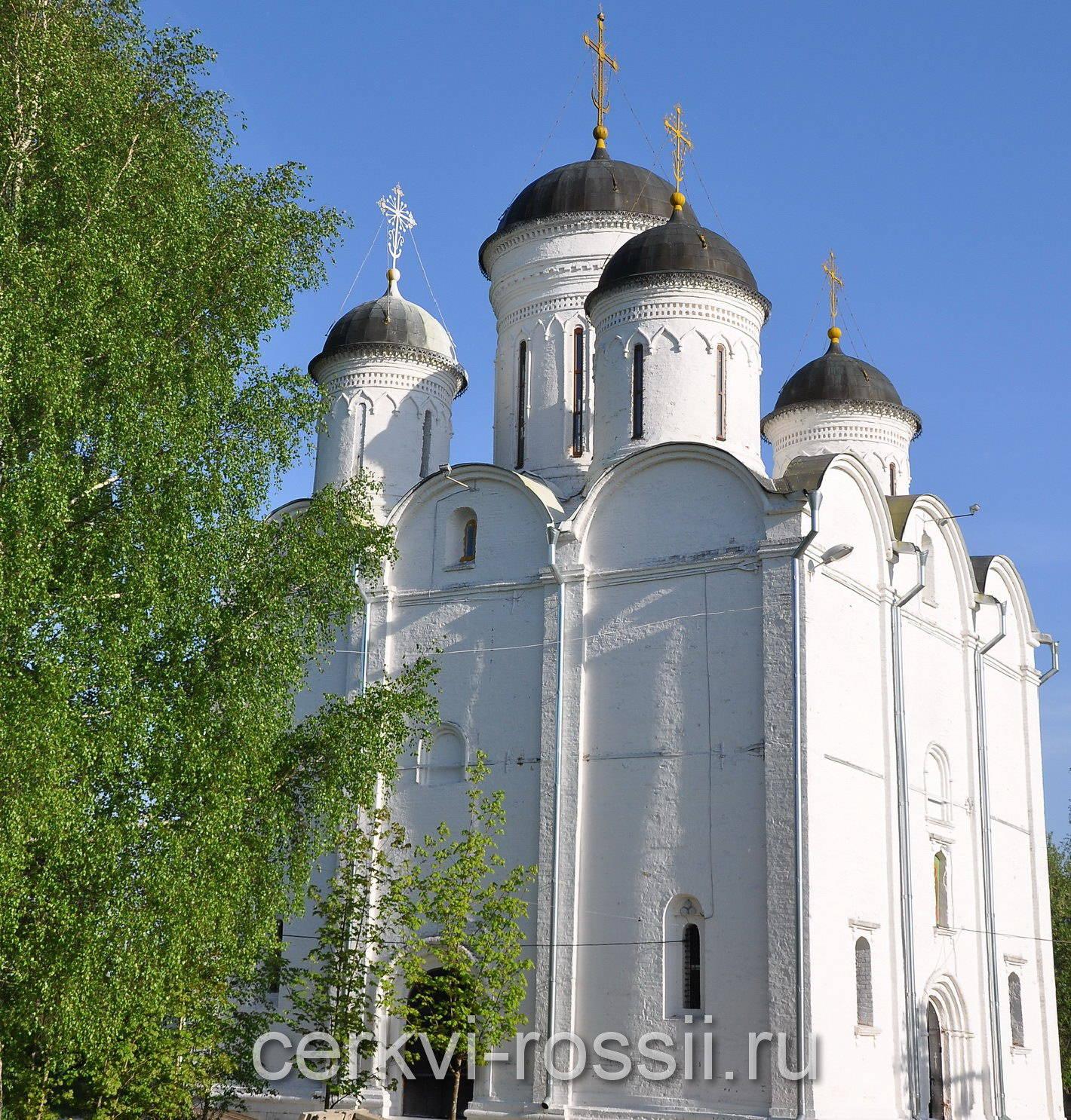 Собор Михаила Архангела с Микулино Городище